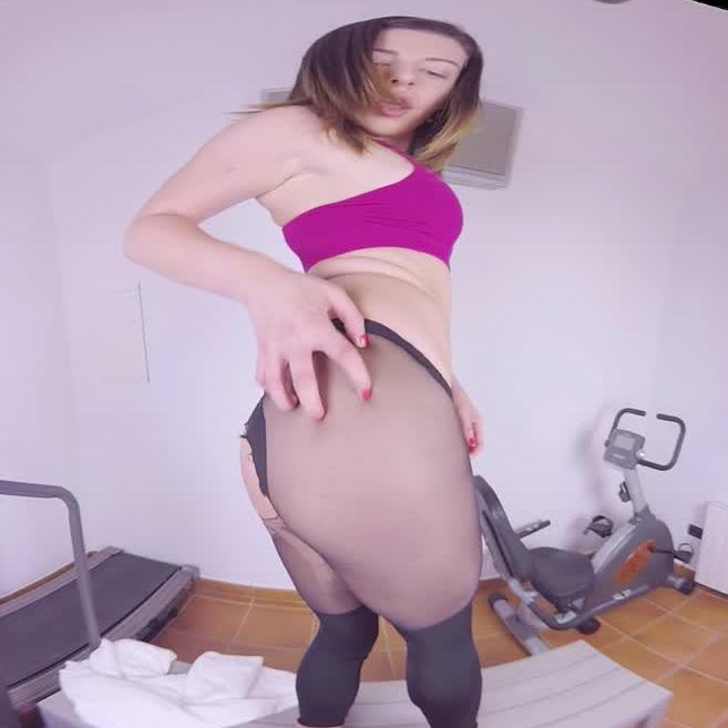 Ally Breelson Fitness Fetish Porn